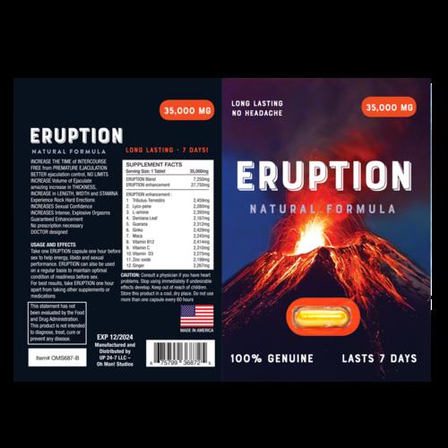 ERUPTION BOX OF 30 PILLS (NET)