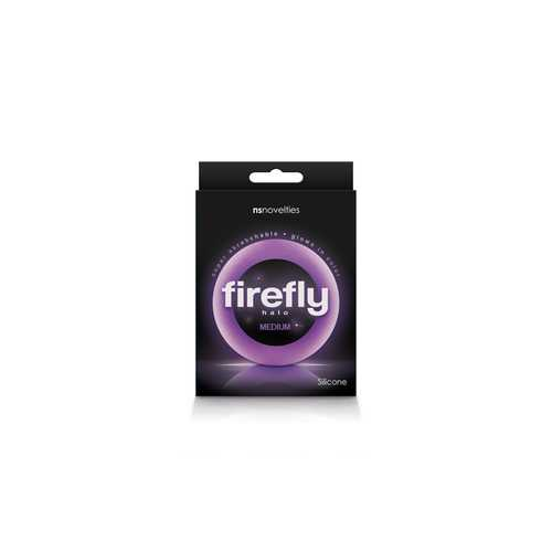 FIREFLY HALO COCK RING MEDIUM PURPLE