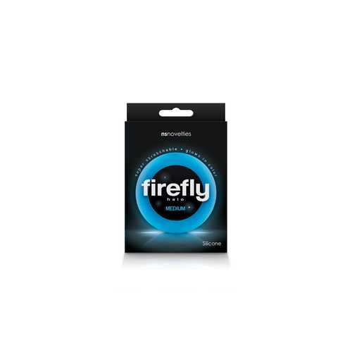 FIREFLY HALO COCK RING MEDIUM BLUE