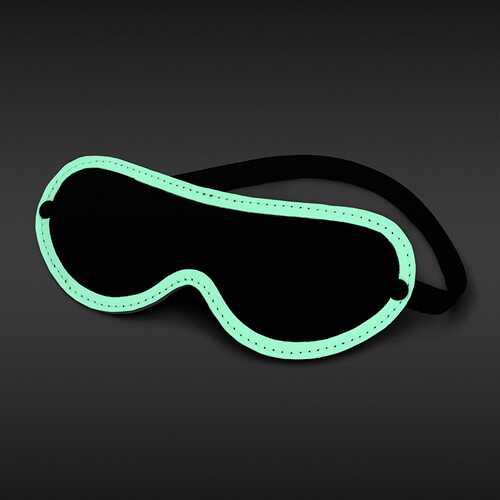 GLO BONDAGE BLINDFOLD GREEN