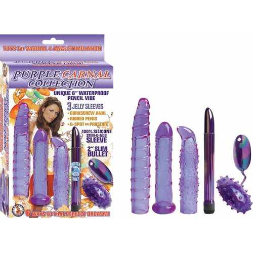 CARNAL COLLECTION KIT PURPLE