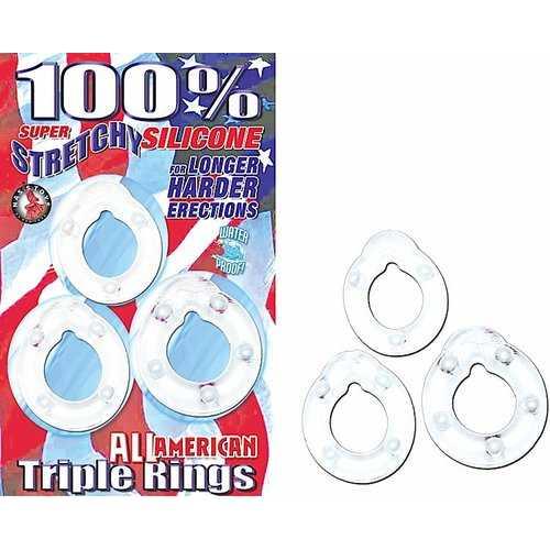 ALL AMERICAN TRIPLE RINGS CLEAR