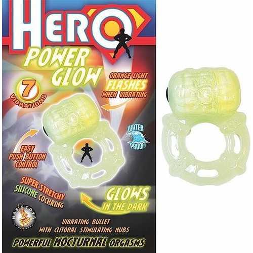 HERO POWER GLOW IN THE DARK COCKRING