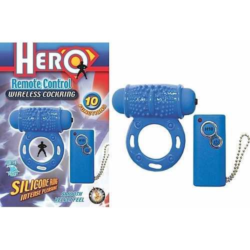 HERO REMOTE WIRELESS COCKRING BLUE