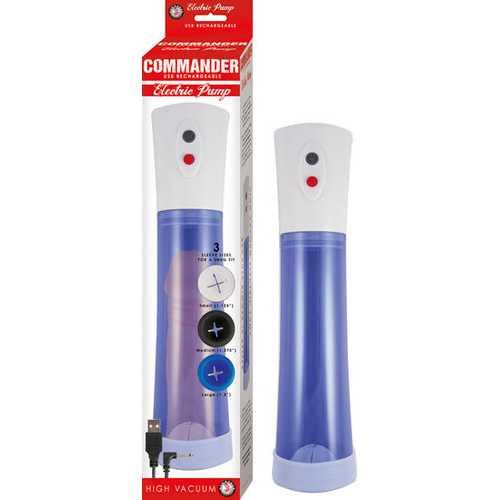 COMMANDER ELECTRIC PUMP BLUE