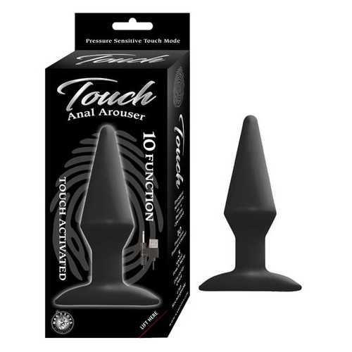 (WD) TOUCH ANAL AROUSER BLACK