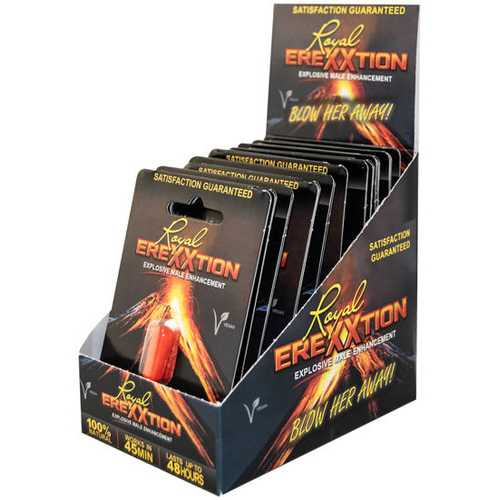 ROYAL EREXXTION ENHANCEMENT PILL 20 PC DISPLAY