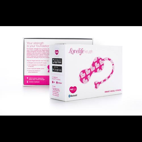 LOVELIFE KRUSH KEGEL EXERCISER PINK (NET)