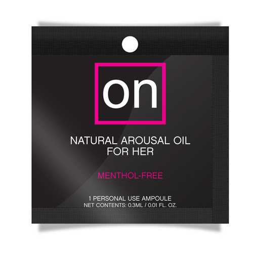 ON NATURAL AROUSAL OIL FOIL PACK