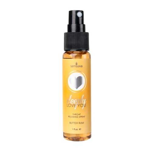 DEEPLY LOVE YOU THROAT SPRAY BUTTER RUM 1 OZ