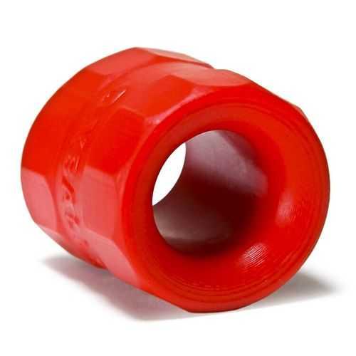 BULLBALLS 2 BALLSTRETCHER SILICONE SMOOSH RED (NET)