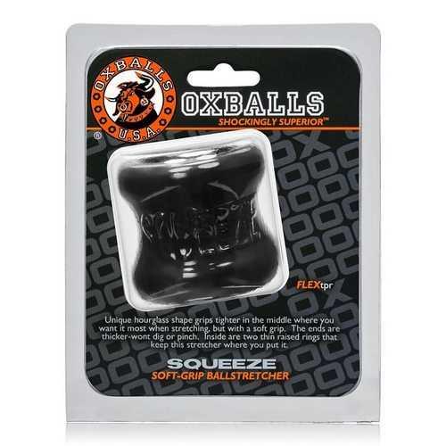 SQUEEZE BALL STRETCHER OXBALLS BLACK (NET)