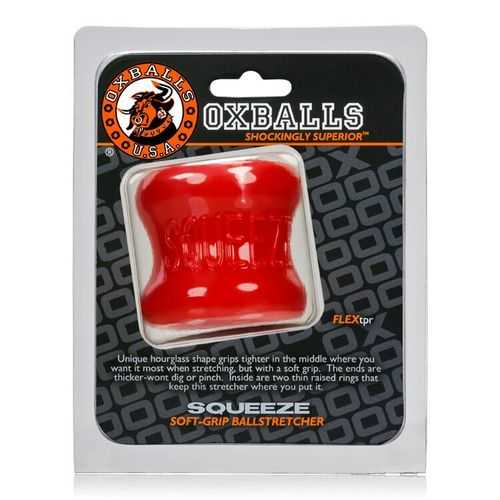 SQUEEZE BALL STRETCHER OXBALLS RED (NET)