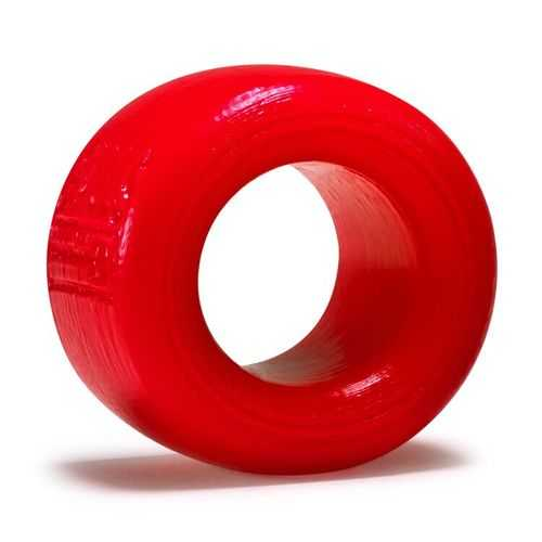 BALLS-T BALLSTRETCHER ATOMIC JOCK SILICONE SMOOSH RED SMALL (NET)