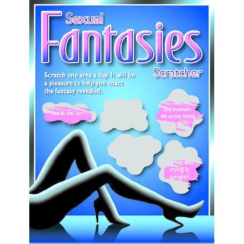 SEXUAL FANTASIES SCRATCHER