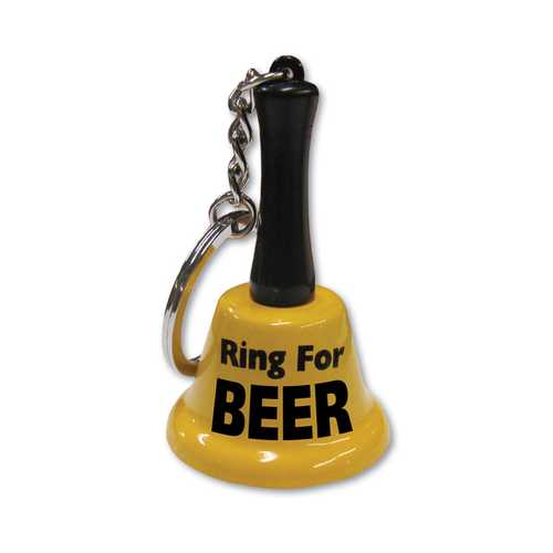 RING FOR BEER KEYCHAIN (out Sept)