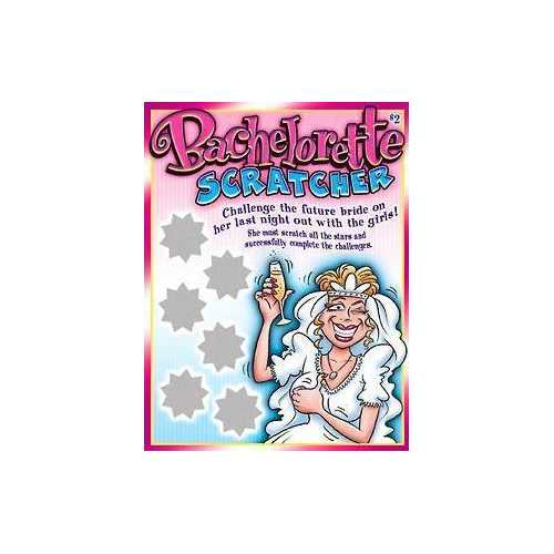 BACHELORETTE SCRATCHERS OZSCRA10
