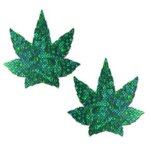 PASTEASE INDICA POT LEAF CRYSTAL GREEN WEED NIPPLE PASTIES