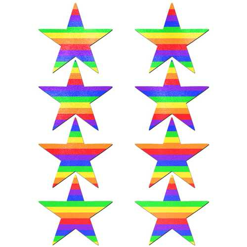 PASTEASE BODY MINIS 8PC RAINBOW STAR