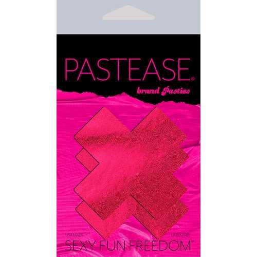 PASTEASE LIQUID RED CROSS NIPPLE PASTIES
