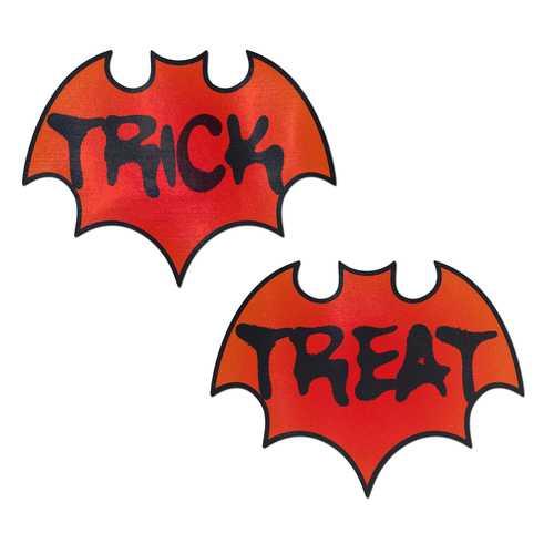(WD) PASTEASE BLOOD ORANGE TRI TREAT HALLOWEEN BAT