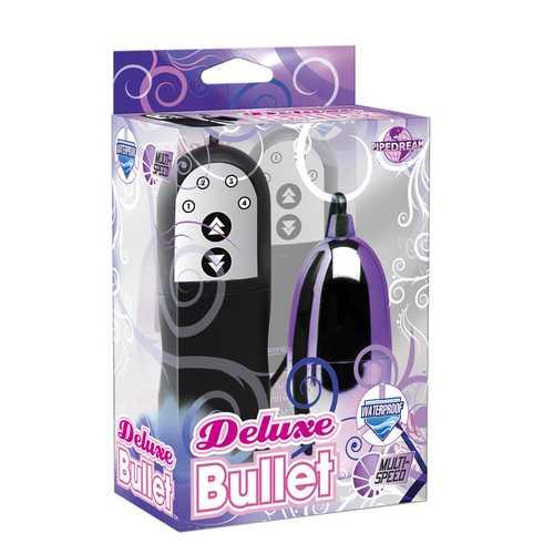 DELUXE MULTI SPEED BULLET PURPLE