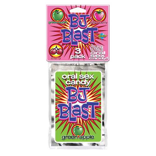 BJ BLAST 3 PACK STRAWBERRY CHERRY GREEN APPLE