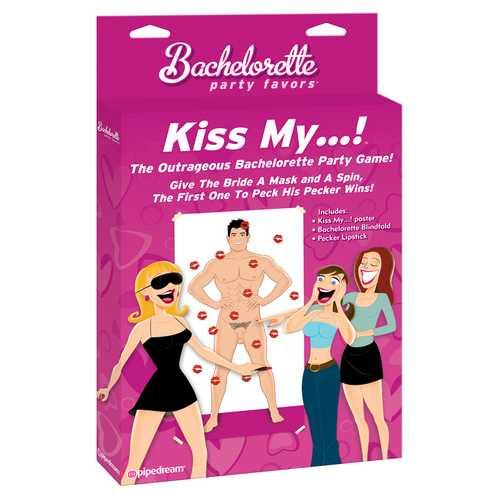 BACHELORETTE KISS MY... PARTY GAME