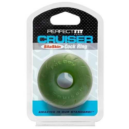 """SILA SKIN CRUISER RING 2.5 GREEN """""""