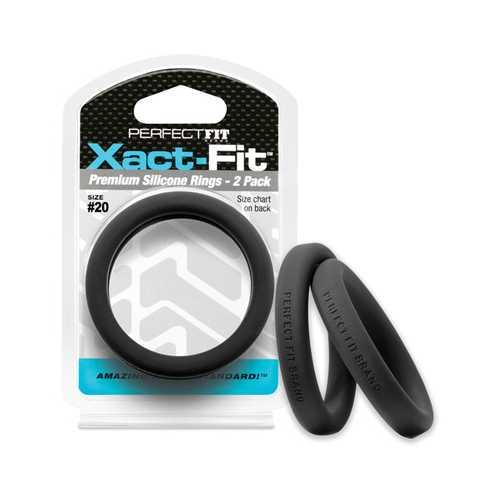 PERFECT FIT XACT-FIT #20 2 PK BLACK