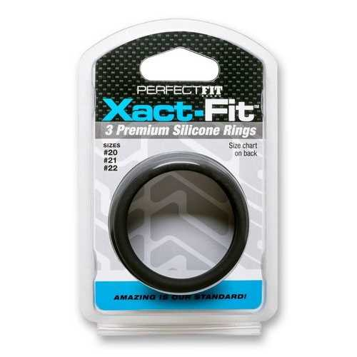 XACT FIT SILICONE RINGS #20 #21 #22