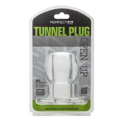 TUNNEL PLUG XL CLEAR (out end Dec)