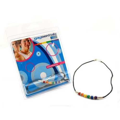 (WD) CERAMIC BEAD NECKLACE 18 ""