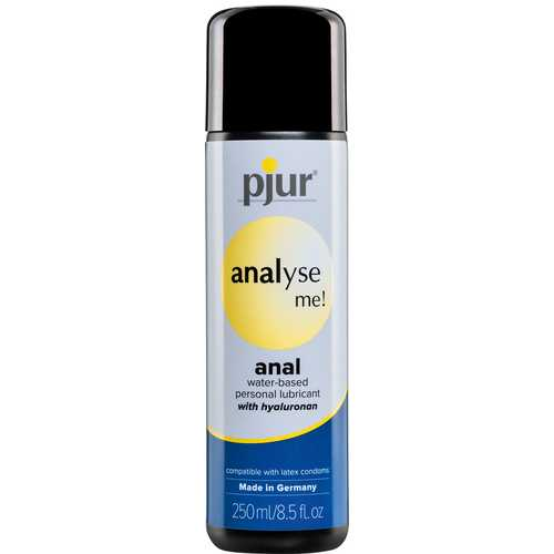 PJUR ANALYSE ME ANAL WATER BASE 250ML