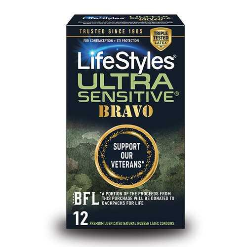 LIFESTYLES ULTRA SENSITIVE BRAVO 12PK