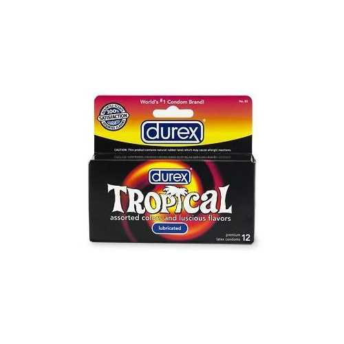 DUREX TROPICAL 12 PACK