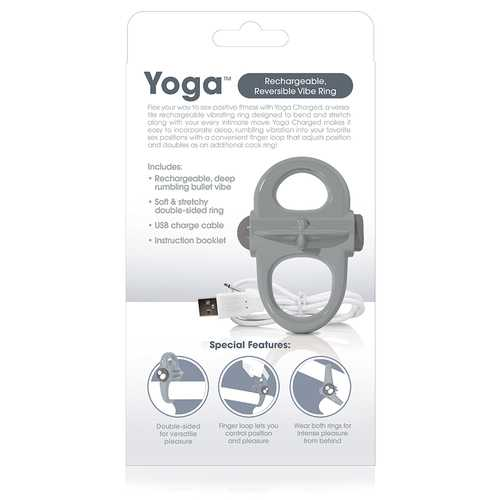 (WD) SCREAMING O CHARGED YOGA MINI VIBE GREY