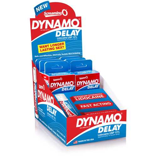 DYNAMO DELAY SPRAY 6PK POP BOX