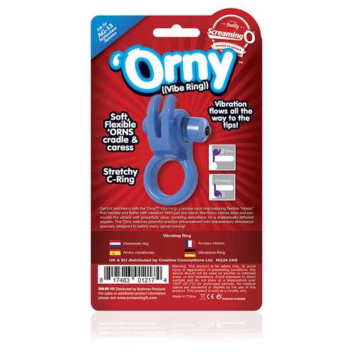 ORNY VIBE RING BLUE (EACHES)