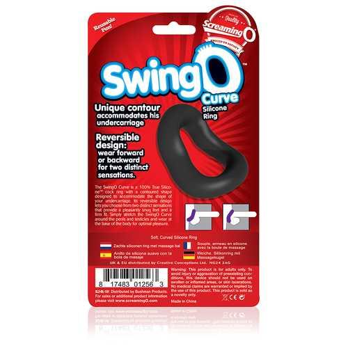 SCREAMING O SWING O CURVED BLACK C-RING