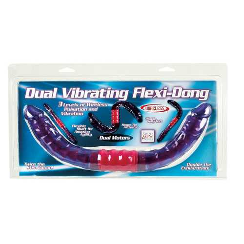 DUAL VIBRATING FLEXI DONG