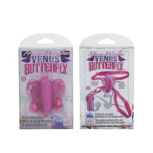 MICRO WIRELESS VENUS BUTTERFLY PINK