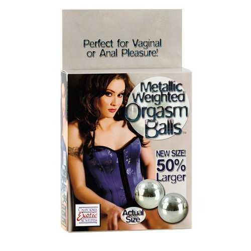 WEIGHT ORGASM BALL METALLIC