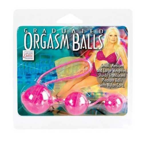 GRADUATED ORGASM BALLS PINK