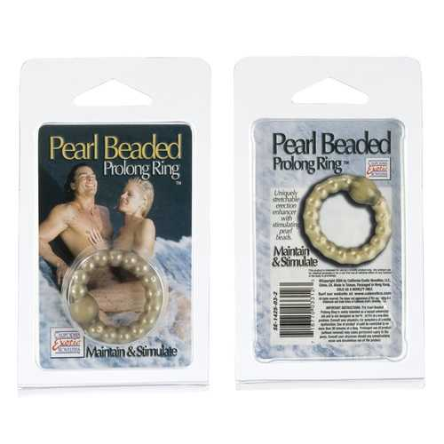 PEARL BEAD PROLONG RING SMOKE