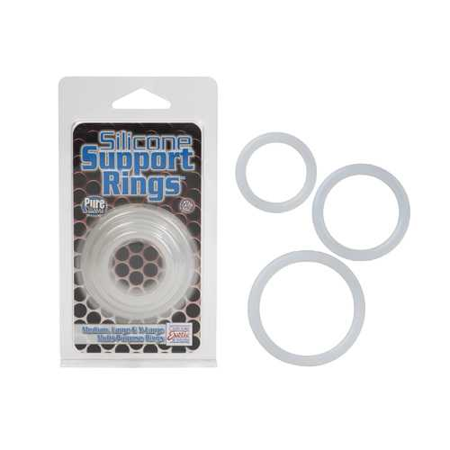 SILICONE SUPPORT RINGS CLEAR