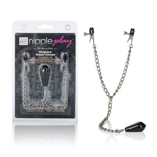 NIPPLE PLAY WEIGHTED NIPPLE CLAMPS