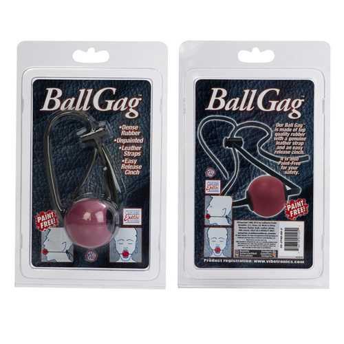BALL GAG RED