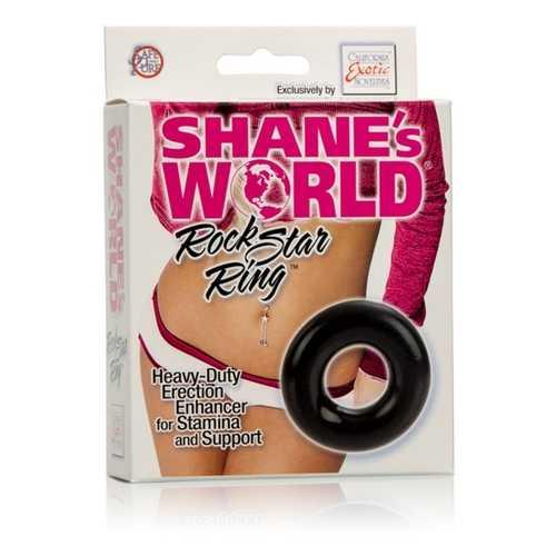 SHANE'S WORLD ROCKSTAR RING BLACK