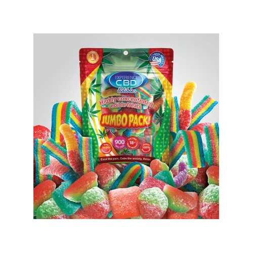 EXPERIENCE CBD 900MG ASSORTED GUMMIES 30PC (NET)